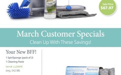 Norwex March Customer Specials