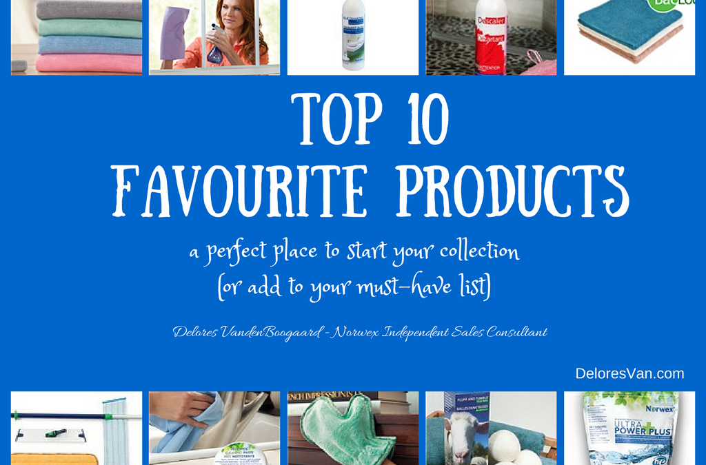 My Norwex Favourite Top 10