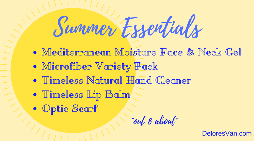 Out & About? Pack Norwex Summer Essentials
