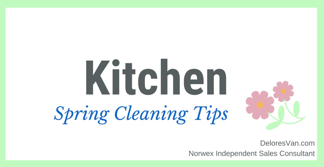 Spring Cleaning Kitchen
