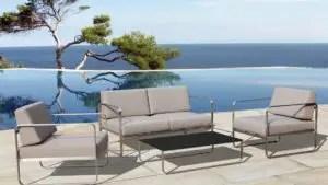 mobilier de jardin de luxe quand l