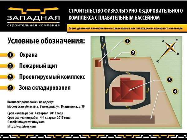 Дизайн баннера для строительной компании «ЗСК»