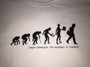 Delphi Developer: The evolution of mankind