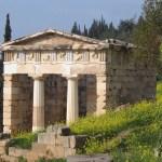 Athenean Treasury at Delphi