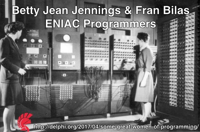 Betty Jean Jennigs & Fran Bilas, ENIAC Programmers