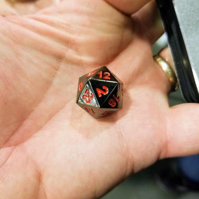 I love polyhedral dice