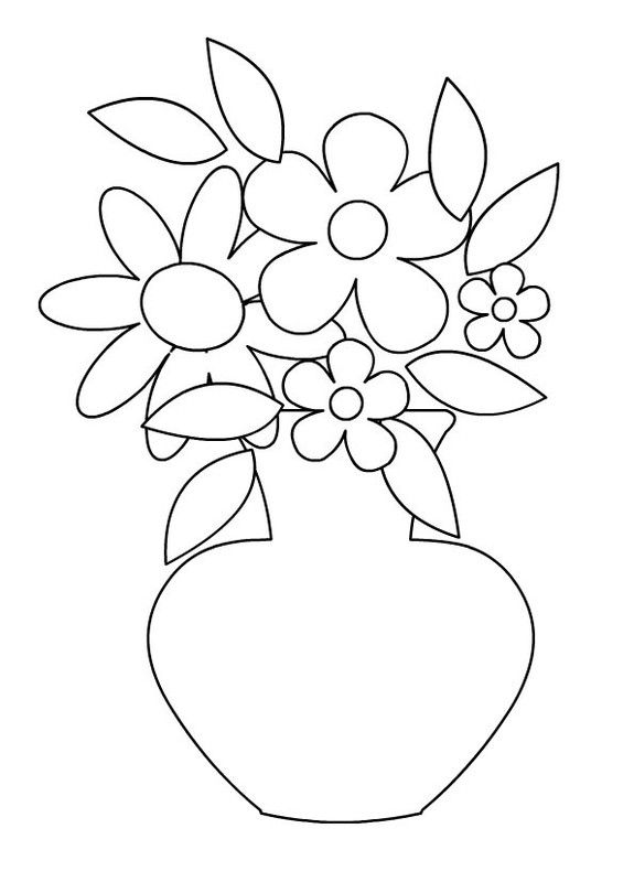 Coloriages Vases