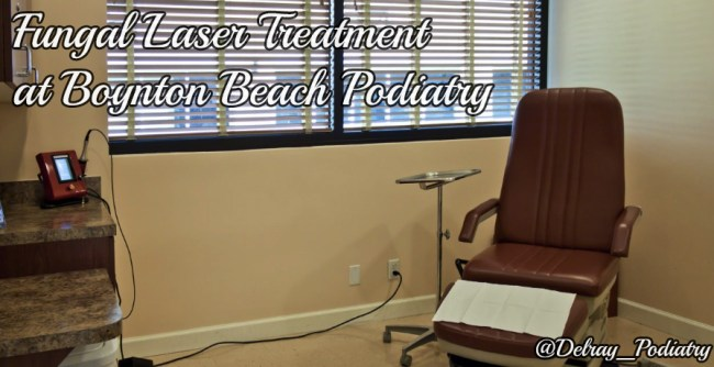Learn more about fungal laser treatment in Boynton Beach at www.DelrayBeachPodiatry.com