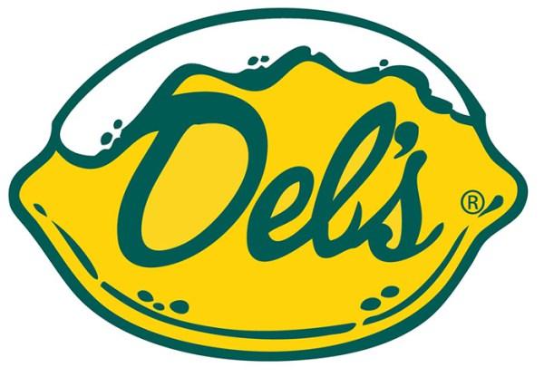 Del's Lemonade lemon sticker
