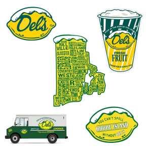 Del's Small Sticker Pack