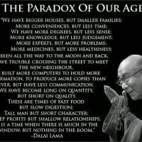 A Nation Of Paradoxes