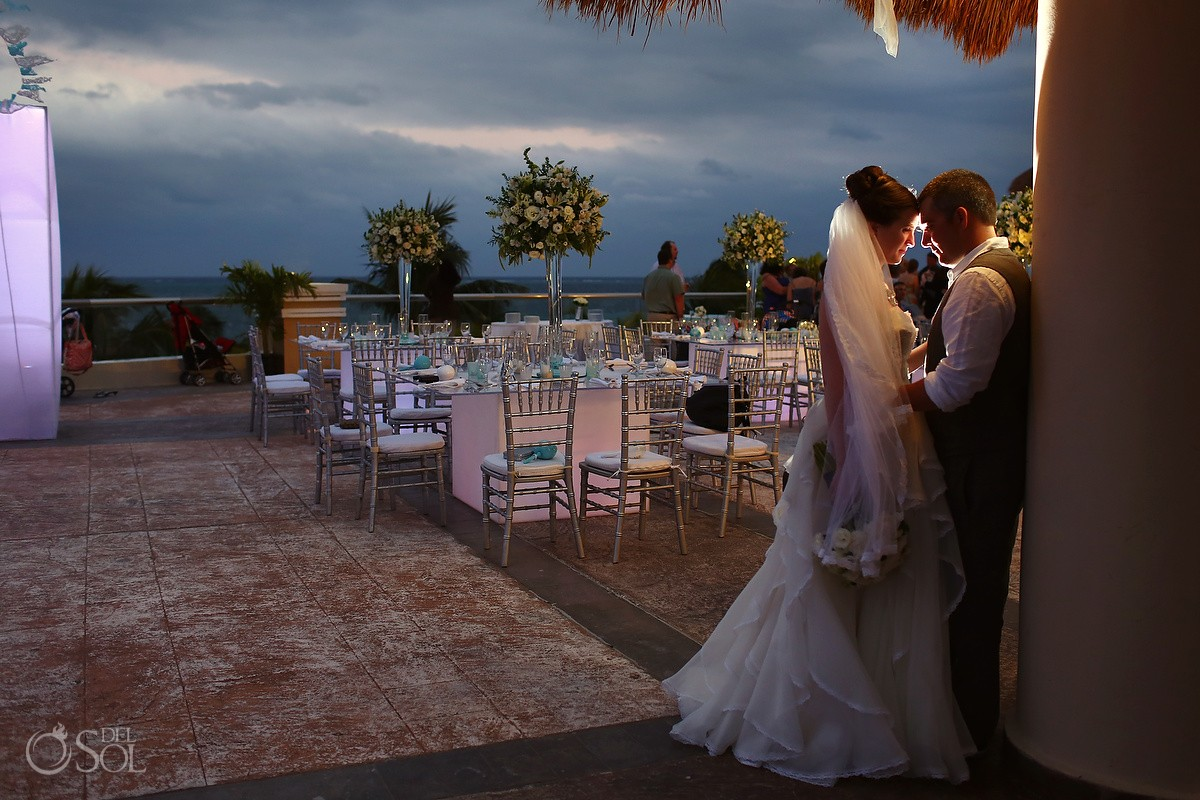 Cancun Wedding At Moon Palace Brittany And Michael Del