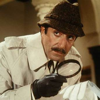Image result for SELLERS AS CLOUSEAU