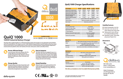 48 volt golf cart battery wiring diagram software open source quiq 1000 industrial charger delta q technologies for full specifications please download the specification sheet