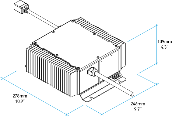 48 volt golf cart battery wiring diagram 6 way switch quiq 1000 industrial charger delta q technologies specifications