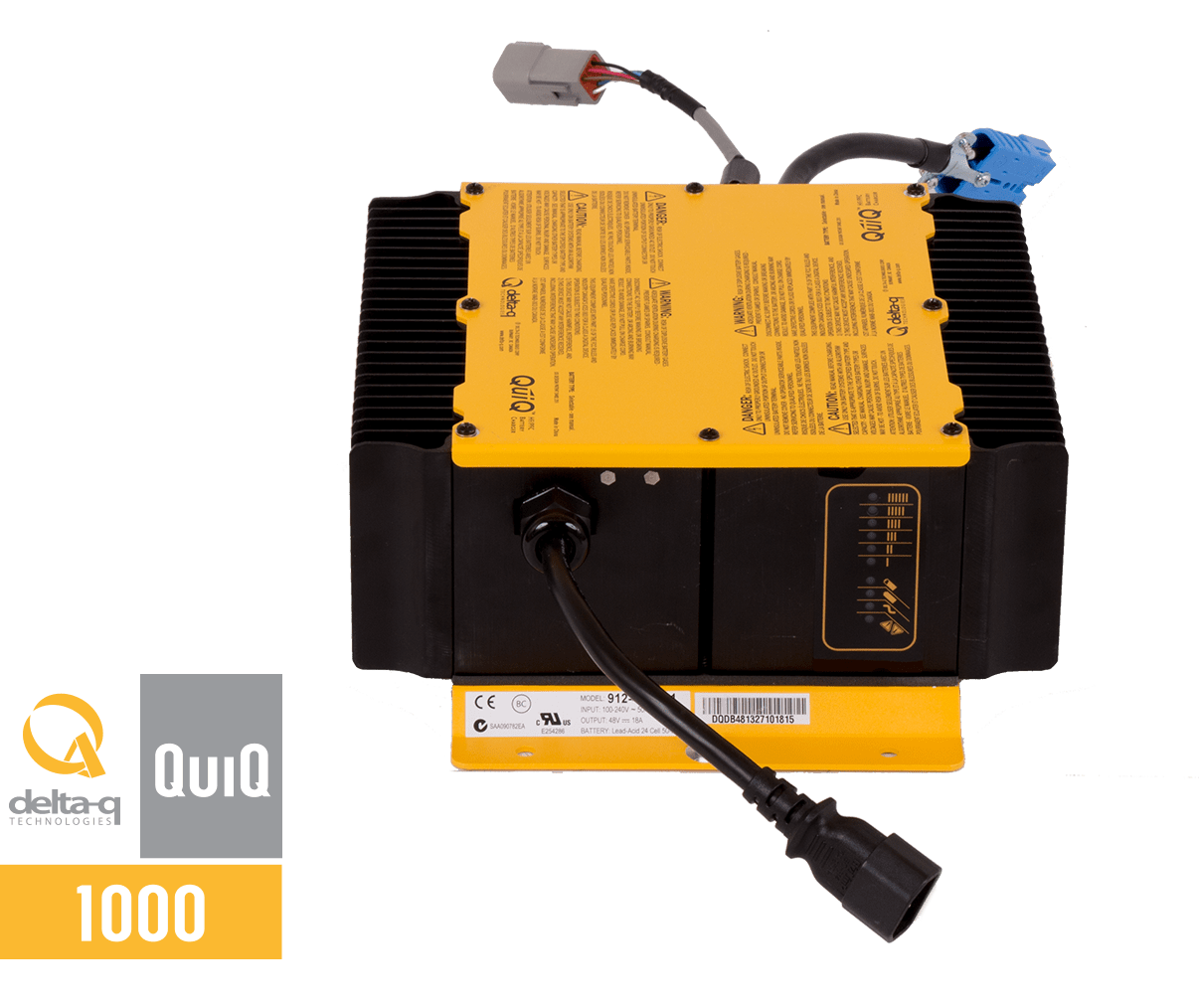 48 volt golf cart battery wiring diagram nissan titan fuse box quiq 1000 industrial charger delta q technologies technical specs