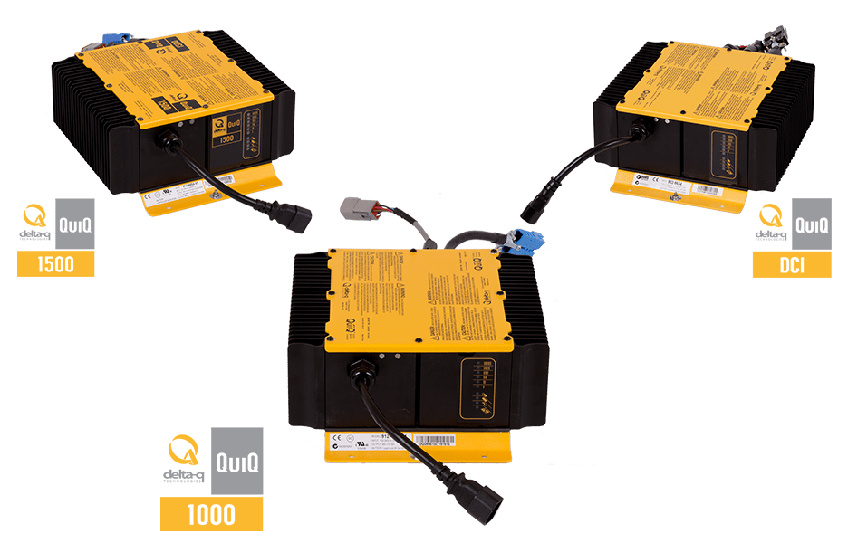 48 volt golf cart battery wiring diagram carrier ac quiq 1000 industrial charger delta q technologies series chargers for electric vehicles and equipment