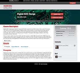 The OOC Experiment ECE 520 Digital ASIC Design  DELTA Portfolio  NCSU DELTA