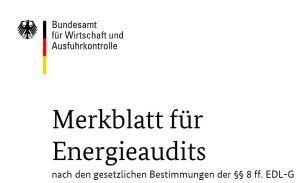Merkblatt DIN 16247
