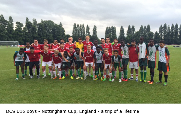 2016 DCS U16 Boys | Nottingham Cup, England