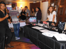 Vendors showcase their brands and art. PHOTO BY FRANCINA SANCHEZ