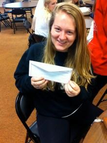 Becki won a $50 gift card to Mynt