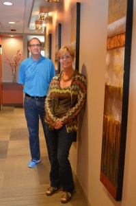 Dr. Tim Loving (left) and Dr. Lisa Loving (right) of Loving Family Dental in Fountain Hills.