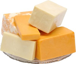 Add cheese to your diet for a quick dose of calcium.