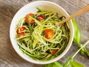 Mouth Healthy Recipe Gluten Free Zoodles