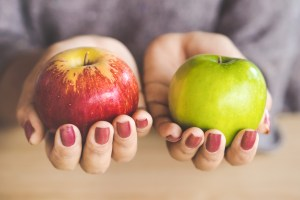 tips to get an apples-to-apples comparison on network size