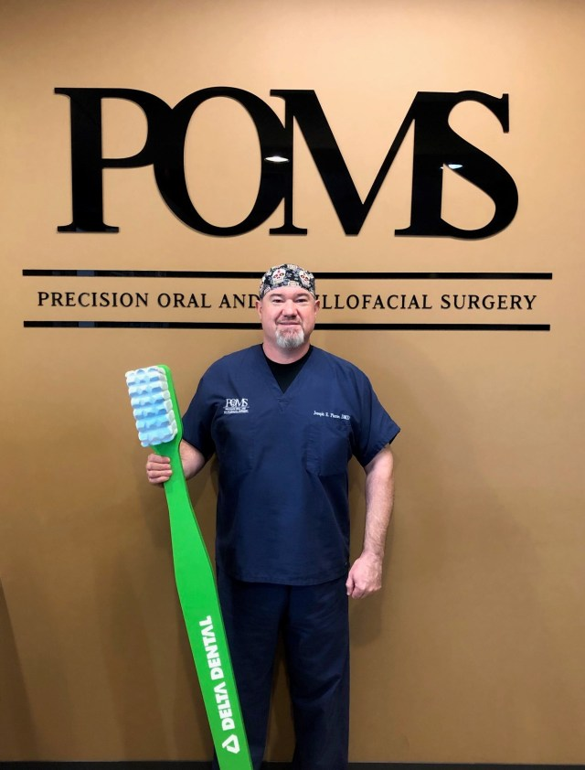 Dr. Joseph Pierse of Precision Oral and Maxillofacial Surgery