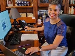 Registered Dietician Katrina Samuels