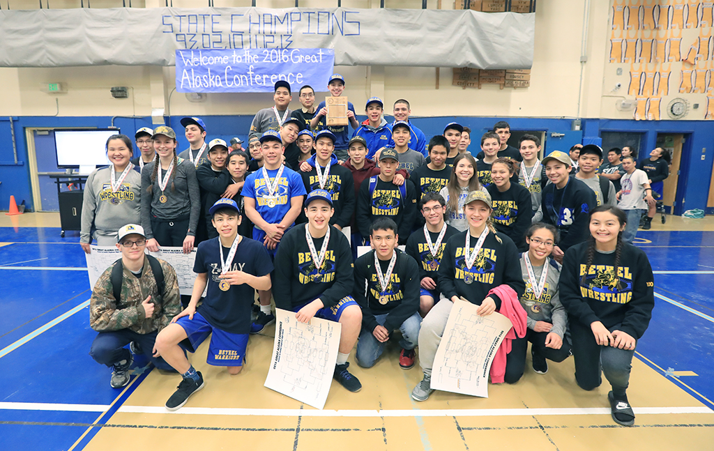 Charlie, Smith help Bethel grapplers take second and Tanana Invite