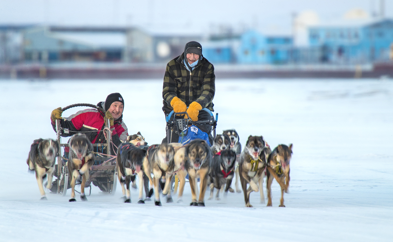 Relocated Iditarod start adds to event filled March in Fairbanks
