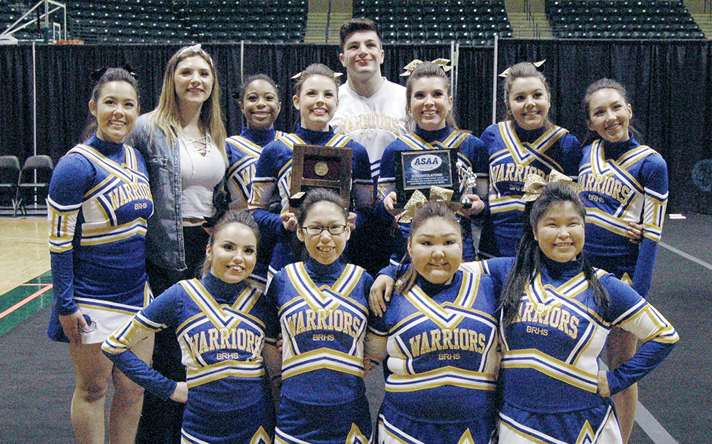 Bethel with awards