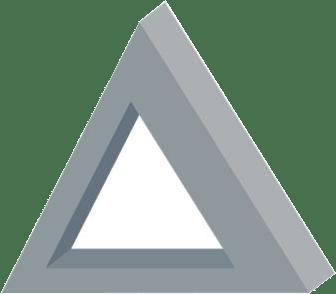 Deltagency monochromatic logo