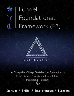 Funnel Foundational Framework (F3) guide cover
