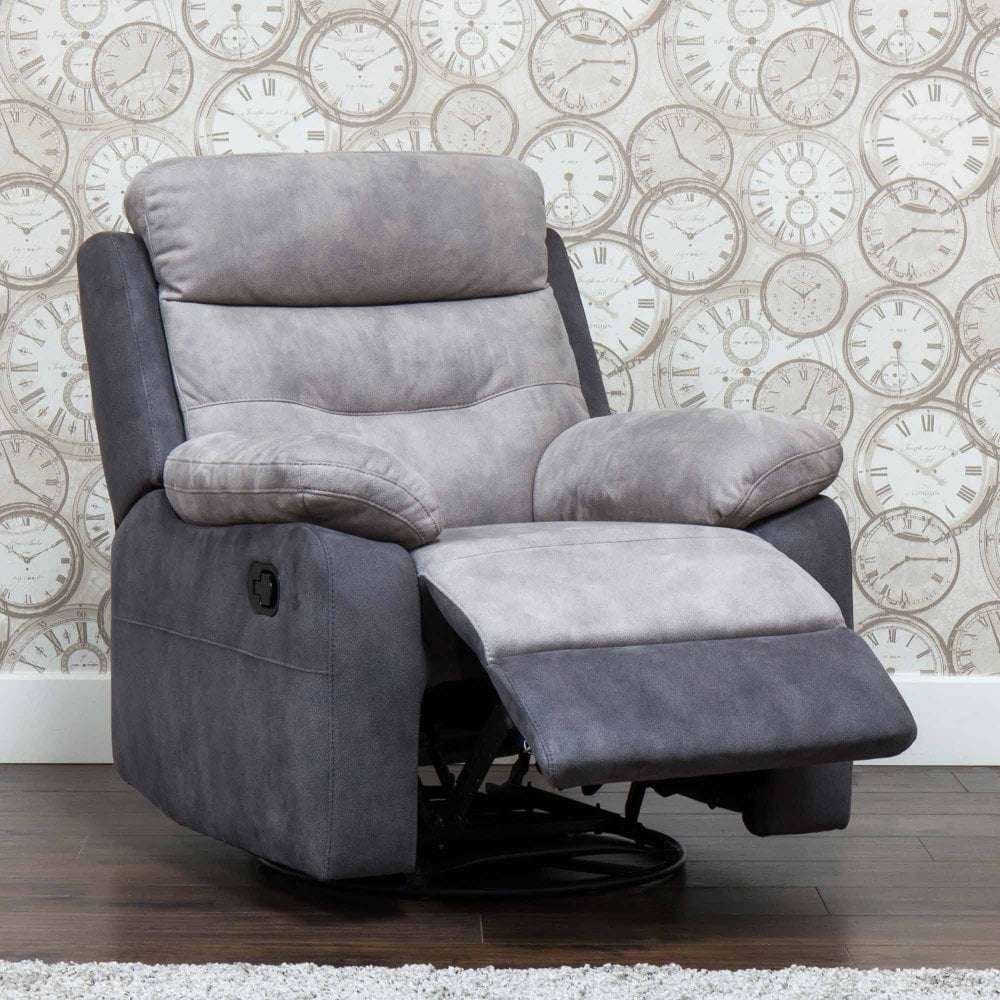Swivel Recliner Chairs Dillon Swivel Recliner