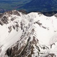 Oberstdorfer Berge im 180° Panorama