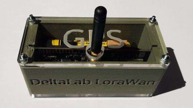 fabrication numérique boîte GPS