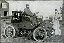 Rural Free Delivery vehicle (from Popular Mechanics, September 1905)
