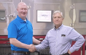 Evan Schiebout, Delta ModTech and Jerry Forbes, Frontier