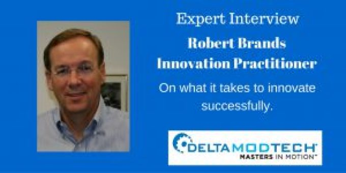 Interview Robert Brands on what it takes to innovate successfully.