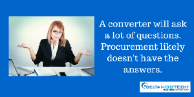 A procurement officer won't have the answer.