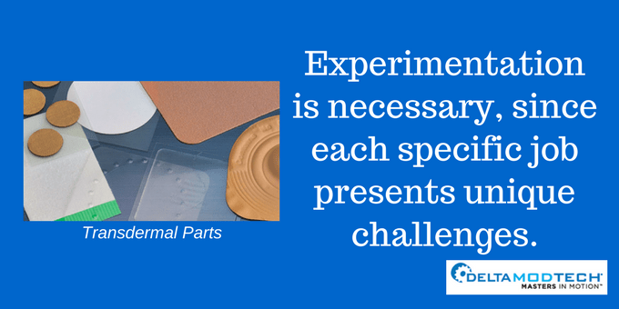 Experimentation is necessary.