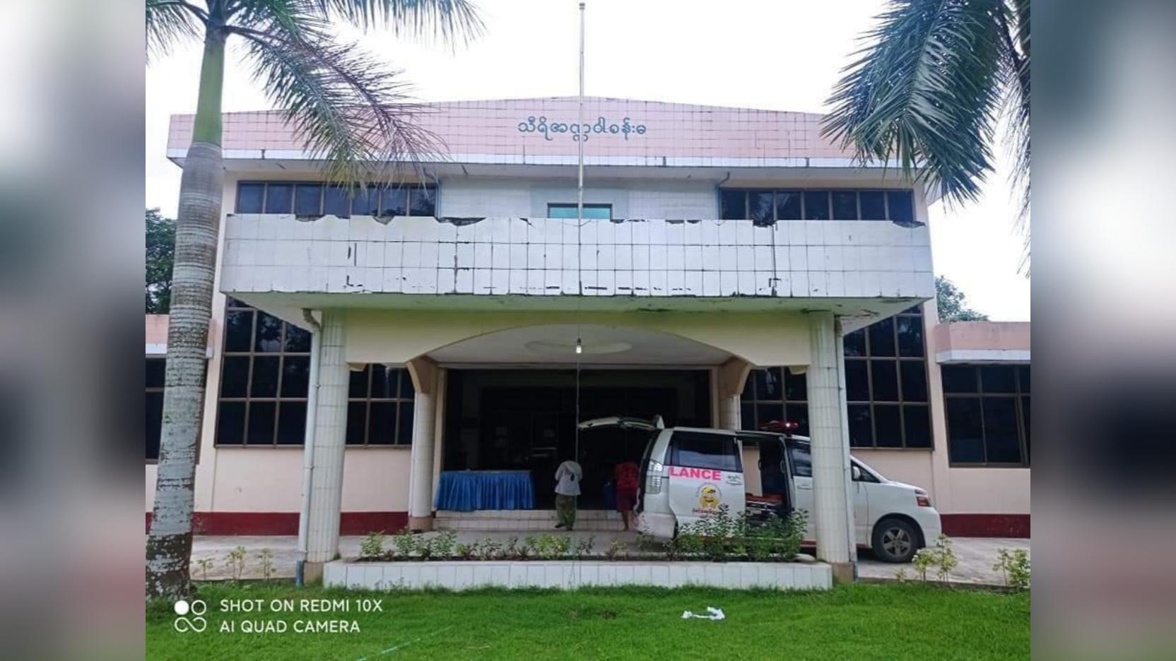 ဖျာပုံမြို့မှာ ကိုဗစ်အတည်ပြုလူနာ (၈)ဦး တွေ့ရှိပြီး အတည်ပြုလူနာ (၂)ဦးသေဆုံး
