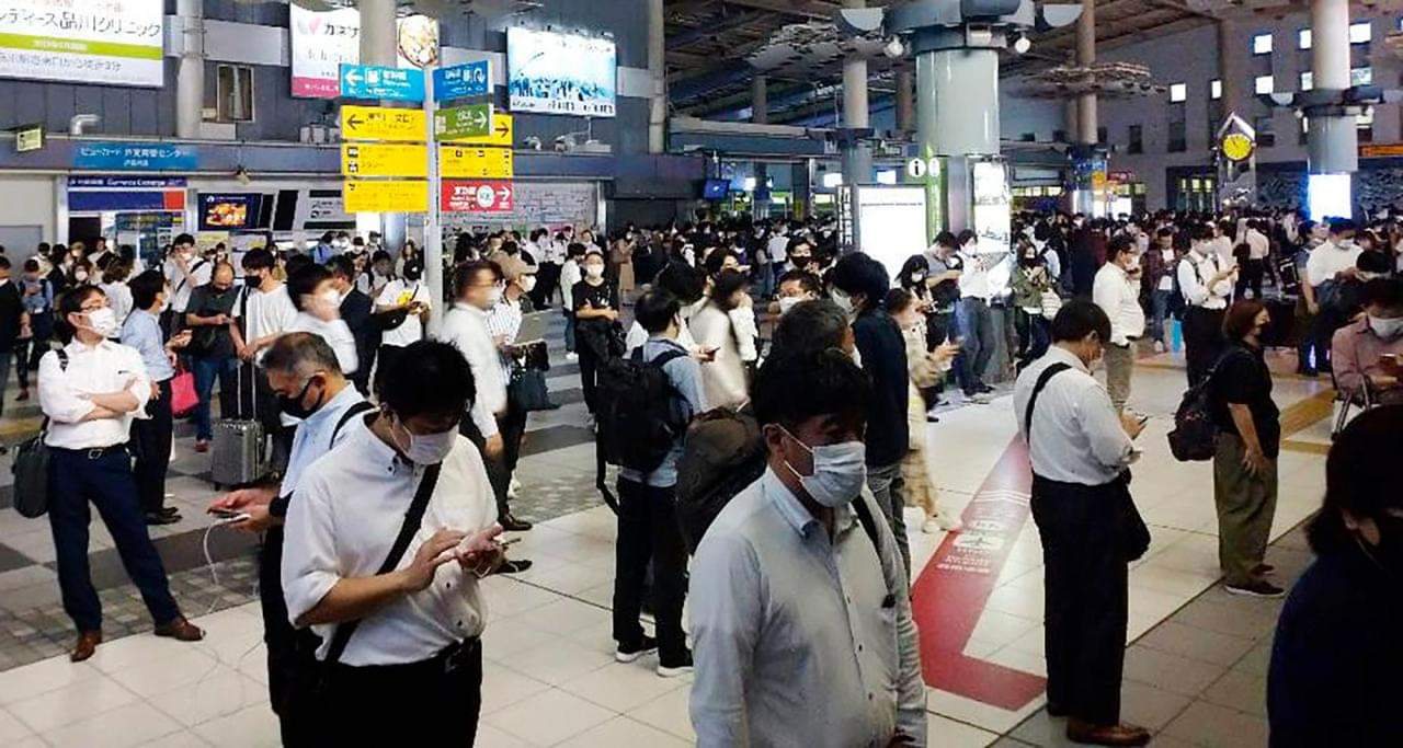 ဂျပန်နိုင်ငံ တိုကျိုမြို့မှာ အင်အားပြင်း ငလျင်လှုပ်