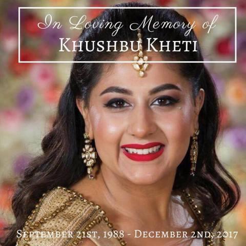 Rest in Peace, Sister Khushbu Keti