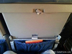 missing tray table on a delta crj jet plus duct tape photo credit delta points