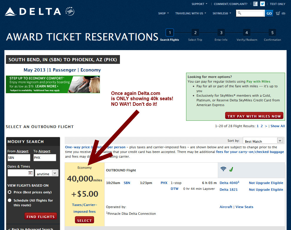 delta skymiles award costs increasing